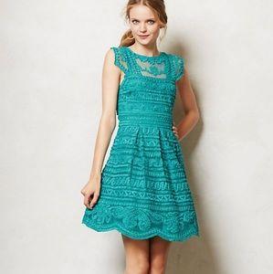 Yoana Baraschi Anthropologie New Light Dress Sz 6